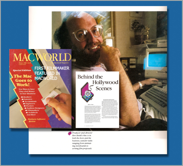 MacWorld 1986 Article by Jeffery B. Young  Photo by George Steinmetz